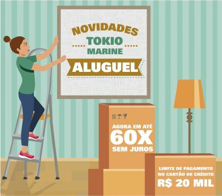 NOVIDADES: TOKIO MARINE ALUGUEL