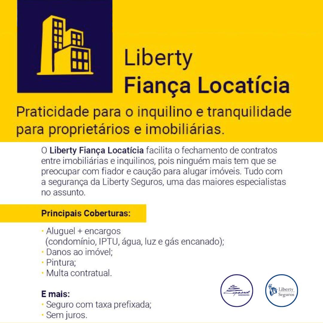 LIBERTY: FIANÇA LOCATÍCIA