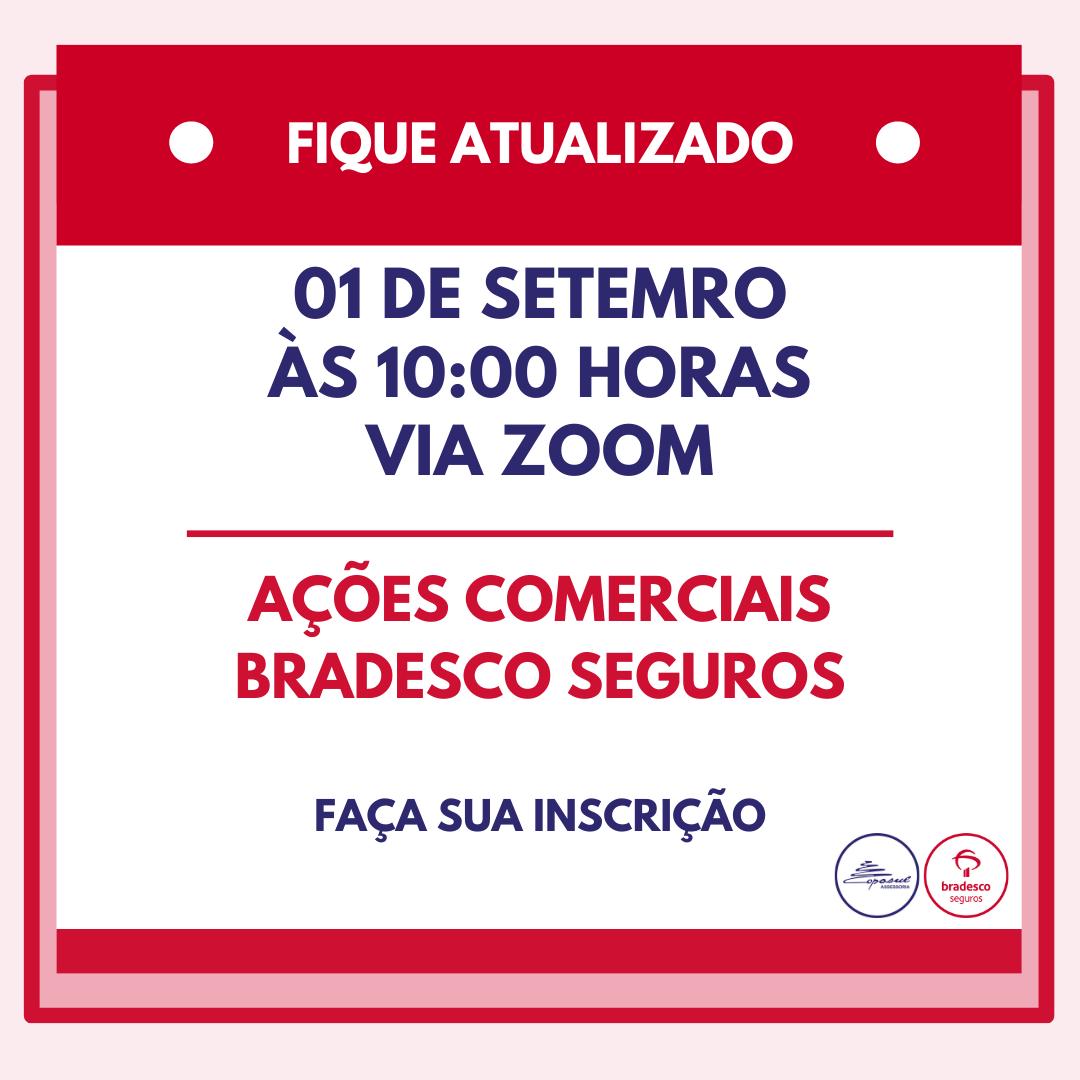 BRADESCO: AÇÕES COMERCIAIS SETEMBRO/2020