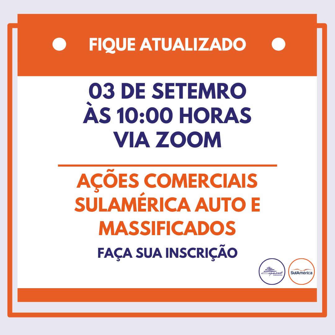 SULAMÉRICA: BATE PAPO AÇÕES COMERCIAIS SETEMBRO/2020