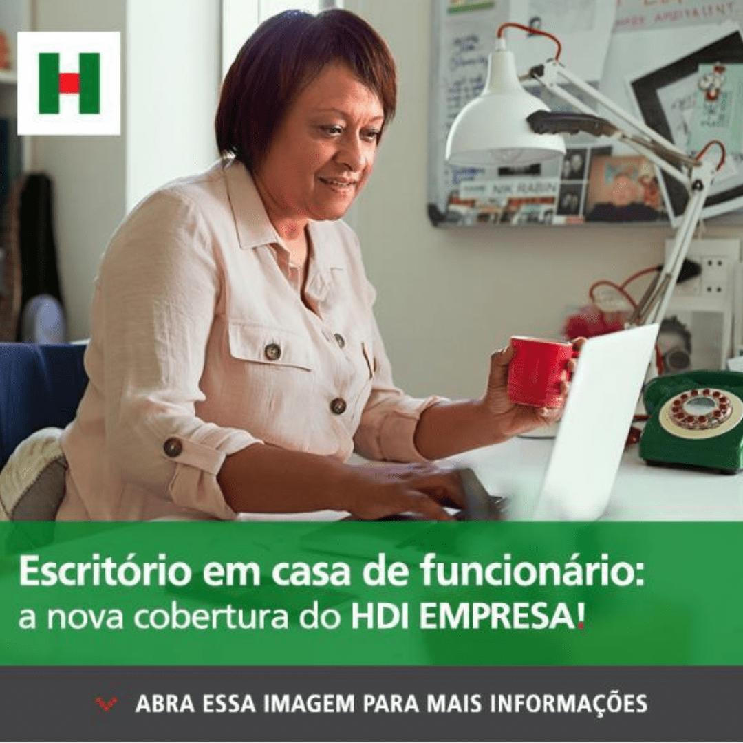 HDI: ESCRITÓRIO EM CASA DE FUNCIONÁRIO
