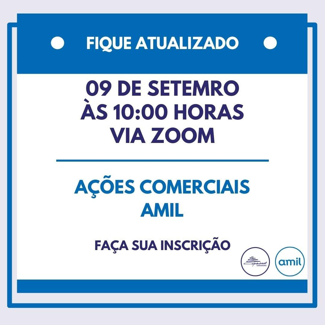 AMIL: BATE PAPO AÇÕES COMERCIAIS SETEMBRO/2020