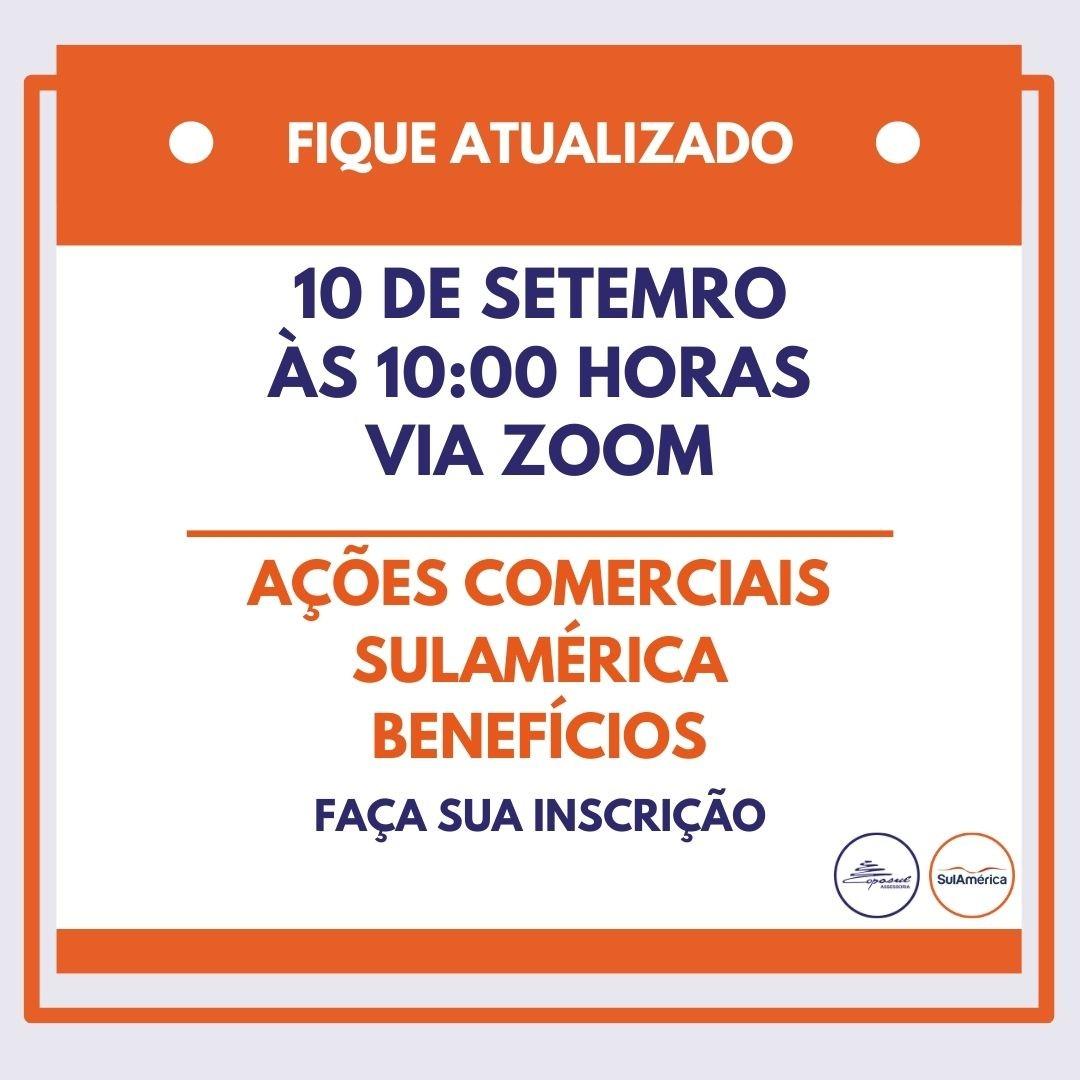 SULAMÉRICA BENEFÍCIOS: AÇÕES COMERCIAIS SETEMBRO/2020