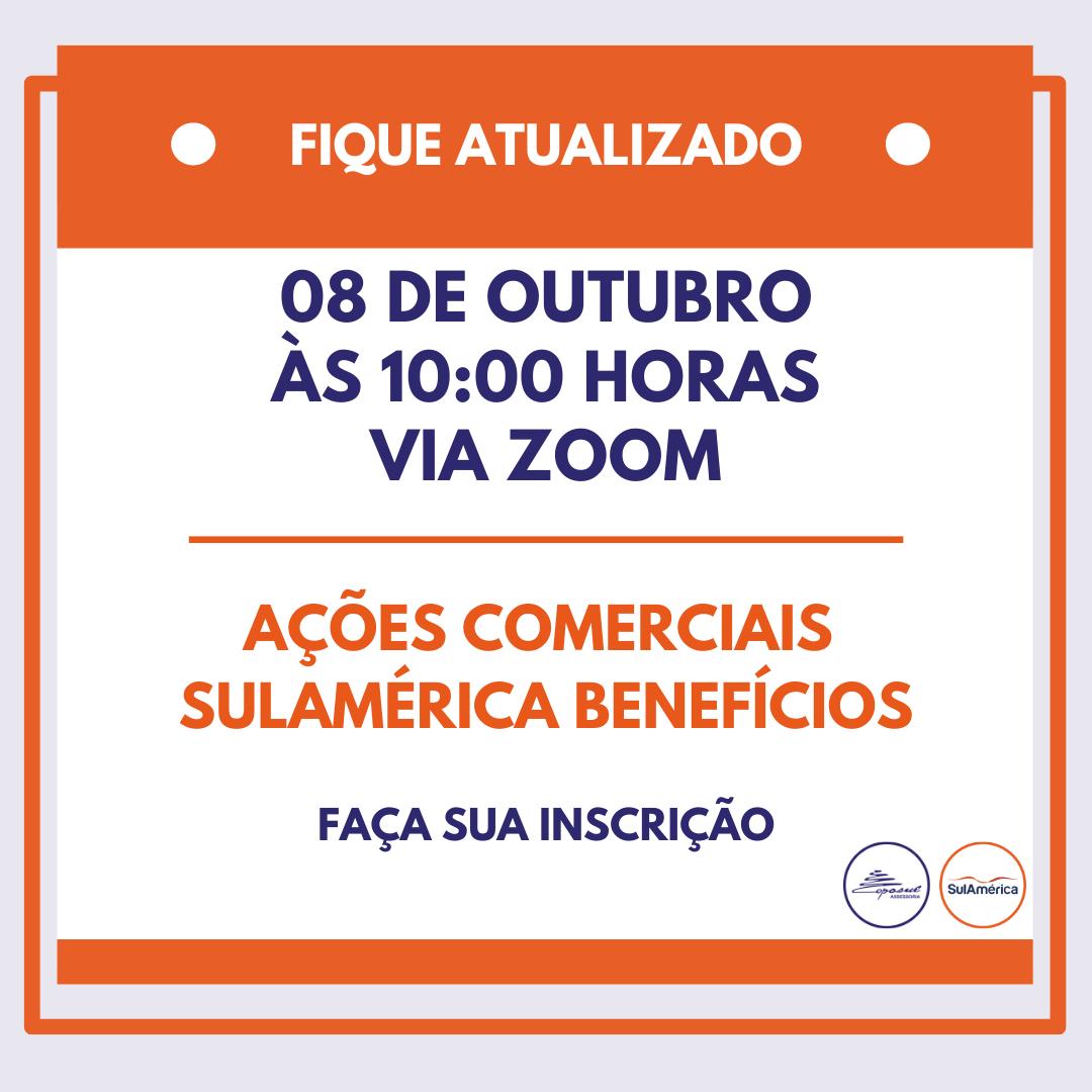 SULAMERICA: BATE PAPO AÇÕES COMERCIAIS OUTUBRO/2020