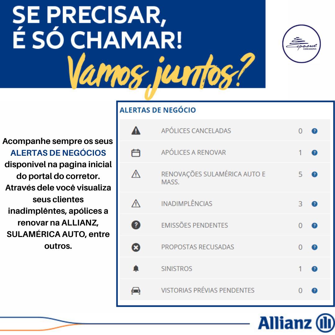 ALLIANZ: ALERTA DE NEGÓCIO