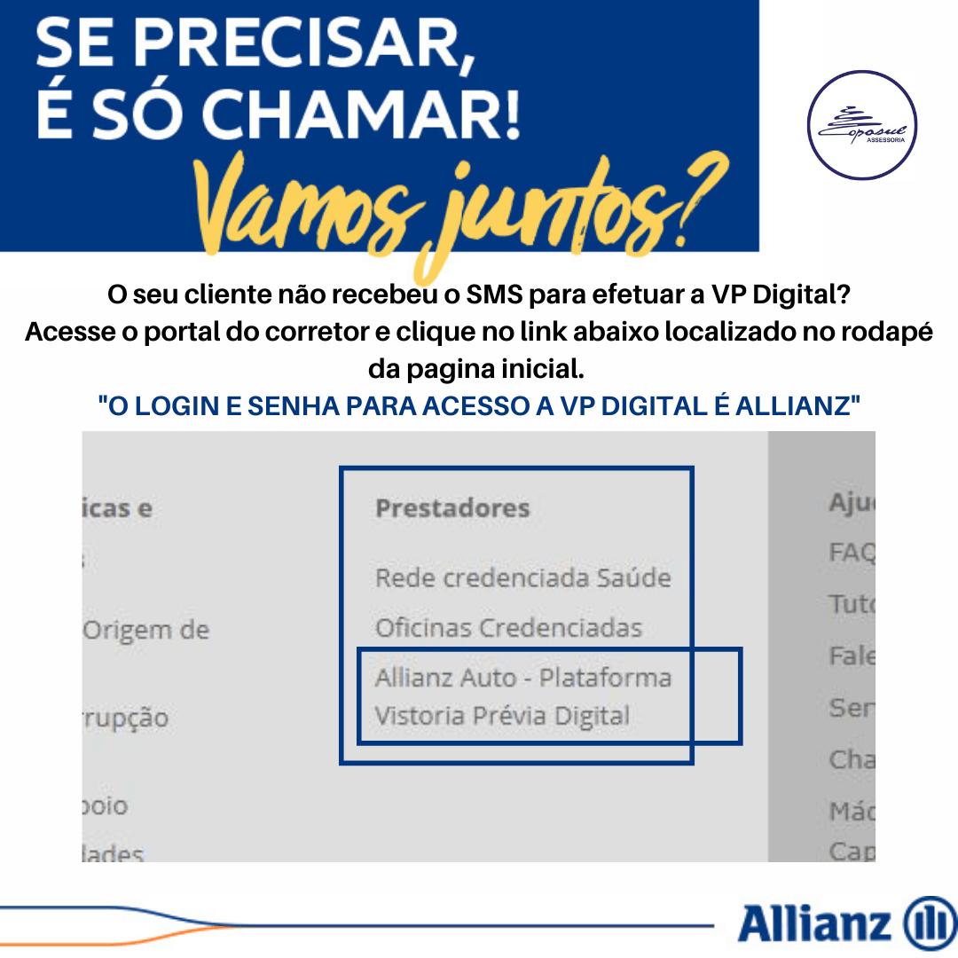 ALLIANZ: VP DIGITAL – REENVIO DE SMS